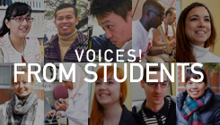 Voices! from Students